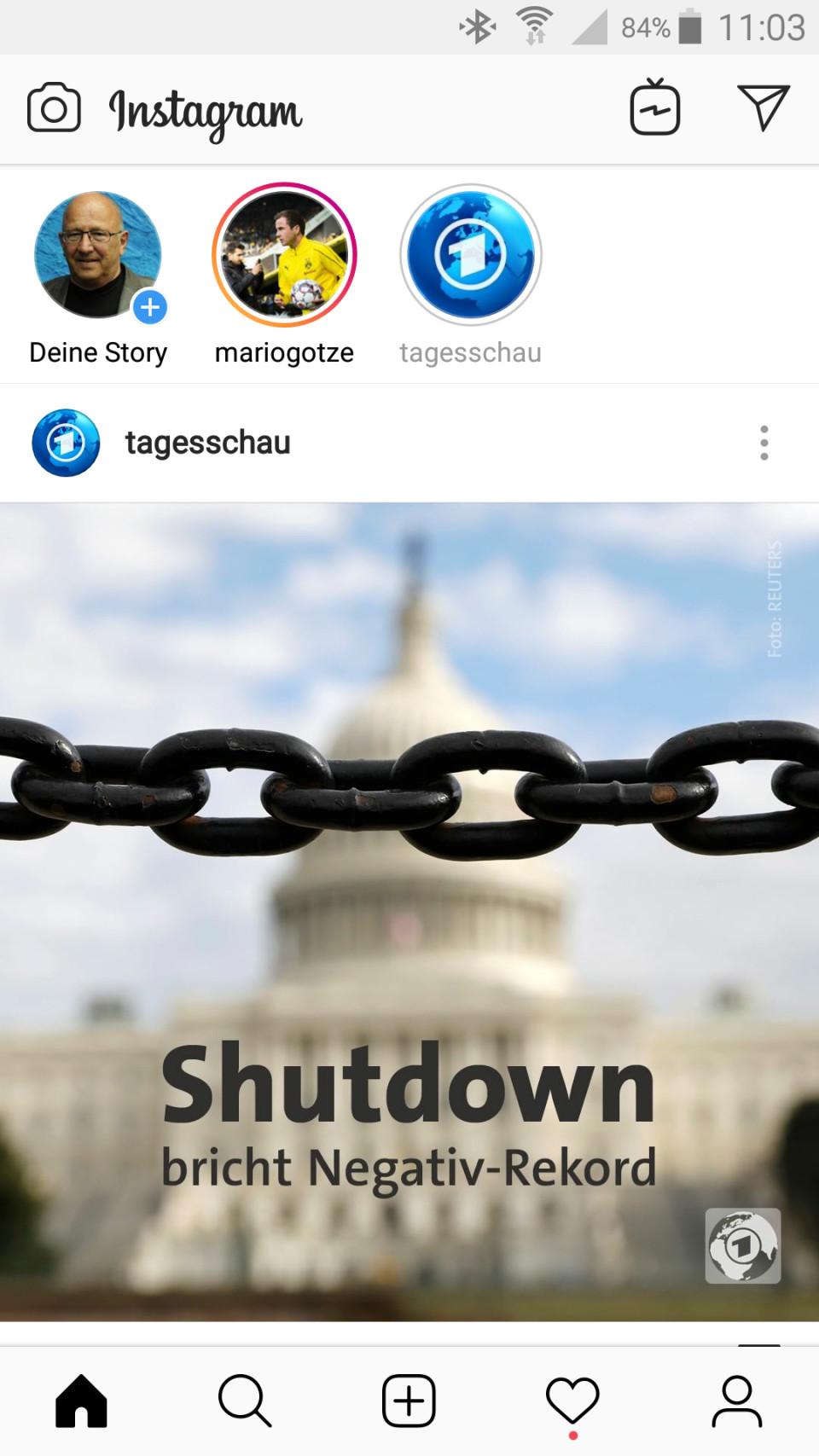 Tagesschau Instagram