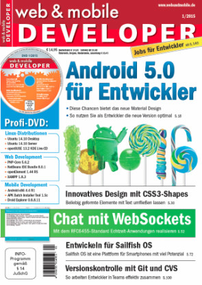Highlights der web & mobile developer 1/2015